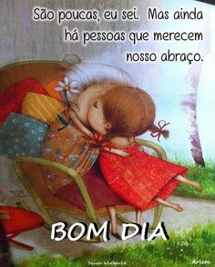 ARLETE SANTOS NOTICIAS: BOM DIA I Card, Life Quotes, Teddy Bear, Clip Art, Thoughts, Humor, Lol, Feelings, Words