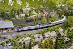 model trains | ... Train Models--in Action! — Amtrak: History of America's Railroad