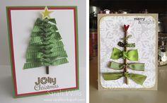 25 Szépséges Karácsonyi DIY Képeslap