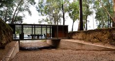 Image 1 of 17 from gallery of Bridge Pavilion / alarciaferrer arquitectos. Photograph by Lucas Carranza