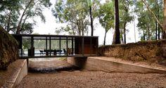 Gallery of Bridge Pavilion / alarciaferrer arquitectos - 1