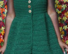 The Deep Blue Sea Crochet Cardigan Pattern. por DreamCrochetShoppe