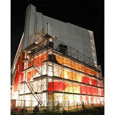 Bottazzi - Permanent artwork for Miyanomori International Museum of Art, MIMAS, Japan - In process, by night
