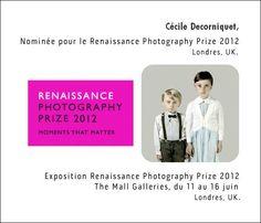 Le Renaissance Photography Prize 2012, Londres, UK.