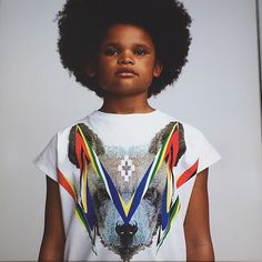 Fierce prints from #marceloburlon for #kidswear #SS16 at #pittibimbo photo by #achimlippoth @pittimmagine @kidswearmagazine