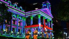 Pretty lights of Hong Kong Disneyland. Hong Kong Disneyland, Pretty Lights, Main Street, Shanghai, Parks, Holidays, Book, Anime, Holidays Events