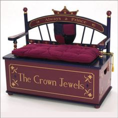 Prince Toy Box Bench Toy Boxes - LuxuryLamb.Com