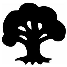 Wholesale 10/20 Pcs/lot Oak Tree Pine Wood Cartoon Plant Styling Car Window Car Body Vinyl Decal Black/sliver Etc. 13 Colors