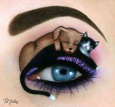 Dog&kitty makeup