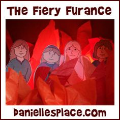 Fiery Furnace Diorama Bible Craft for Sunday School from www.daniellesplace.com