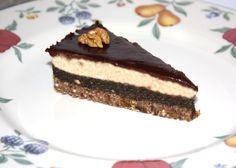 Štedrák bez múky, cukru a pečenia, RAW recepty, Torty Czech Recipes, Raw Food Recipes, Sweet Recipes, Cake Recipes, Dessert Recipes, Desserts, Raw Cake, Vegan Cake, Healthy Deserts
