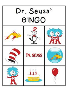 NEW POST: Dr. Seuss Activities! 3/01/14 http://www.prekpartner.com/2014/02/dr-seuss-activities.html  Bilingual Math Product: http://www.teacherspayteachers.com/Product/The-Cat-in-the-Hat-Bilingual-Math-Product-1138996