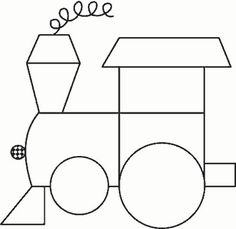 Choo Choo pattern - a possibility for a future quilt Quiet Book Patterns, Easy Quilt Patterns, Applique Patterns, Applique Quilts, Craft Patterns, Pattern Blocks, Applique Designs, Applique Ideas, Pdf Patterns