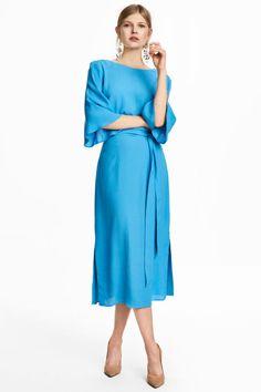Kleid   Hellblau   DAMEN   H&M DE