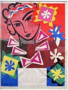 Henri Matisse. Madame de Pompadour, 1951