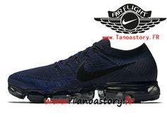 uk availability d2070 ce12d Chaussures Homme Nike Air VaporMax Prix Pas Cher Midnight Navy 849558-400 -1711130005-