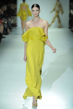 Gucci RTW Spring 2013 // chartreuse