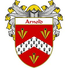 Arnold Coat of Arms   namegameshop.com has a wide variety of products with your surname with your coat of arms/family crest, flags and national symbols from England, Ireland, Scotland and Wale