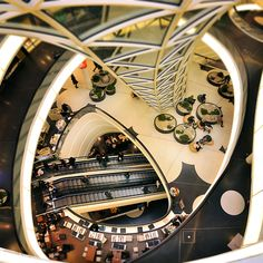 Surface bridging - Myzeil  MyZeil shopping center  Frankfurt • Germany  by architects Massimiliano & Doriana Fuksas
