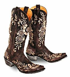 Lucky Old Gringo Boots-Size 10