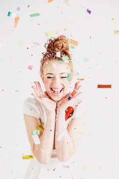 Photo booth inspiration #Confetti