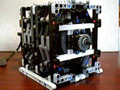 Lego rotary engine