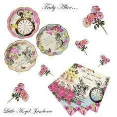 Truly Alice In Wonderland Mad Hatters Plates &Napkins Set Tea Party Hen Birthday   Home, Furniture & DIY, Celebrations & Occasions, Party Supplies   eBay!