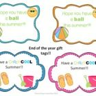 Beach balls and ice pops are the perfect end of the year gift for your students! Its inexpensive and the children will love them! Print, laminate, ...