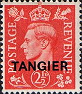 Morocco Agencies TANGIER 1950 SG 284 King George VI Fine Mint Scott 554 Other Tangier Stamps HERE