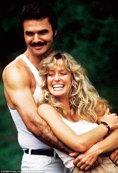 Burt Reynolds & Farrah Fawcett