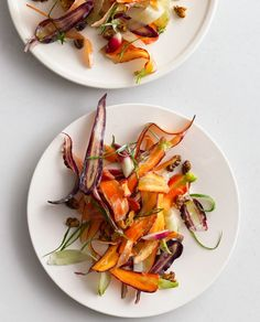 Carrot Salad with Yogurt and Coriander / Bon Appetit