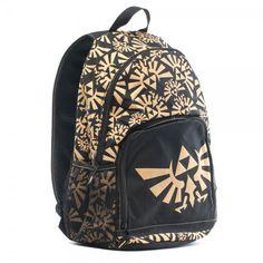 Legend of Zelda Print Backpack