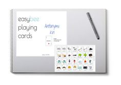 Antonym Playing Card Deck- Kinder Card Deck, Deck Of Cards, Playing Card, Language, Mindfulness, Teacher, Student, Organization, Education