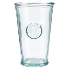 love these beautifully mottled recycled glass tumblers from tesco and T.K. Maxx.