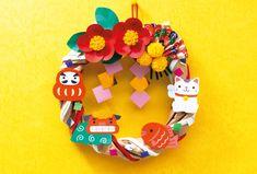 New Year's Crafts, Felt Crafts, Decor Crafts, Diy And Crafts, Crafts For Kids, Arts And Crafts, Paper Crafts, Chinese New Year Decorations, New Years Decorations