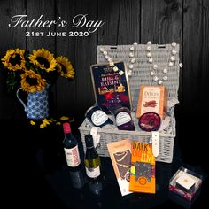 Are you ready for Fathers Day? Luxury Hampers, Hamper Ideas, Father's Day, Gift Store, Luxury Gifts, Gift Baskets, Special Gifts, Gifts For Him, Best Gifts