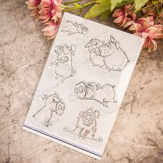 Cheap stamp font, Buy Quality stamp funny directly from China stamp delivery Suppliers: NCraft Clear Stamps N2117 Scrapbook Paper Craft Clear stamp scrapbooking Pig