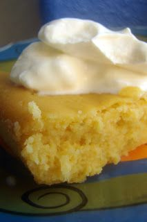 SCD Lemon Lime Custard Cake (*Substitute dripped SCD yogurt for cream cheese & top with SCD legal garnish...)