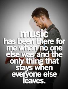 I love music.<3