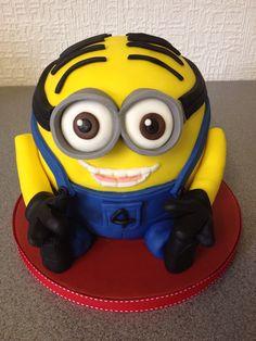 Meet Dave the Minion Cake