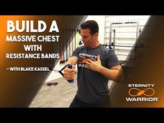 BEST CHEST EXERCISES WITH RESISTANCE BANDS - YouTube Resistance Band Training, Resistance Tube, Resistance Band Exercises, Chest Exercises, Chest Workouts, Band Workouts, Best Chest Workout, Youtube, Men