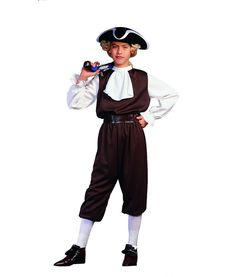 Colonial Boy Child Costume #thanksgiving #pilgrim