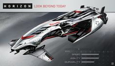 Concept ships: futuristic racing glider concepts by vadim motov Spaceship Art, Spaceship Design, Spaceship Concept, Concept Ships, Concept Cars, Hover Car, Sci Fi Ships, Futuristic Art, Futuristic Vehicles