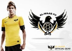 Create the next clothing or merchandise design for Al-Waab FC by Art Astronaut