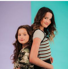Annie and Hayley Julianna Grace Leblanc, Hayley Leblanc, Annie Grace, Annie Lablanc, Cute Young Girl, Cute Girls, Annie Angel, Annie Leblanc Outfits, The Perfect Daughter