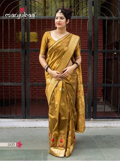 Manjubaa Lotus Series Traditional Indian Women Festive Fashion Formal Party Wear Saree Designer Attractive Look Occasionally Sari Collection Single Pieces Wholesale Supplier from surat - Full Catalog Price - INR Indian Designer Sarees, Designer Sarees Online, Indian Sarees, Tamil Saree, Bollywood Saree, Fancy Sarees, Party Wear Sarees, Casual Saree, Casual Dresses