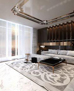 20 Luxus Deko Ideen Innenarchitekt Konstantin Frolov in 2020 Luxury Homes Interior, Luxury Home Decor, Home Interior Design, Diy Home Decor, Cafe Interior, Room Decor, Art Deco, Salons Cosy, House Ceiling Design