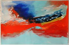 Ana Sério Película de Fósforo, 2015, 62x94cm #Artist #AnaSério #Colorful #Paintings #Oil on #Paper at #SaoMamede #Art #Gallery in #Algarve #Portugal