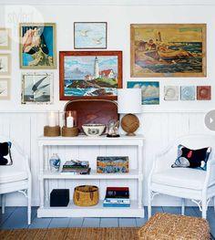 framed seascapes