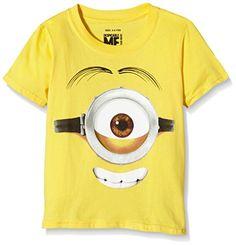Minions Stuart Face - camiseta Niñas #camiseta #realidadaumentada #ideas #regalo